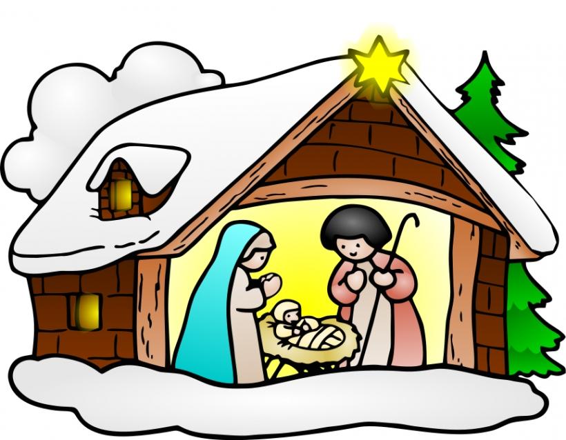 820x638 Religious Christmas Wisemen Clipart