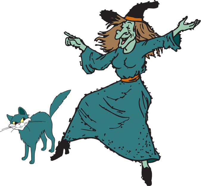 675x626 Fun Halloween Witch Clipart Kid 2