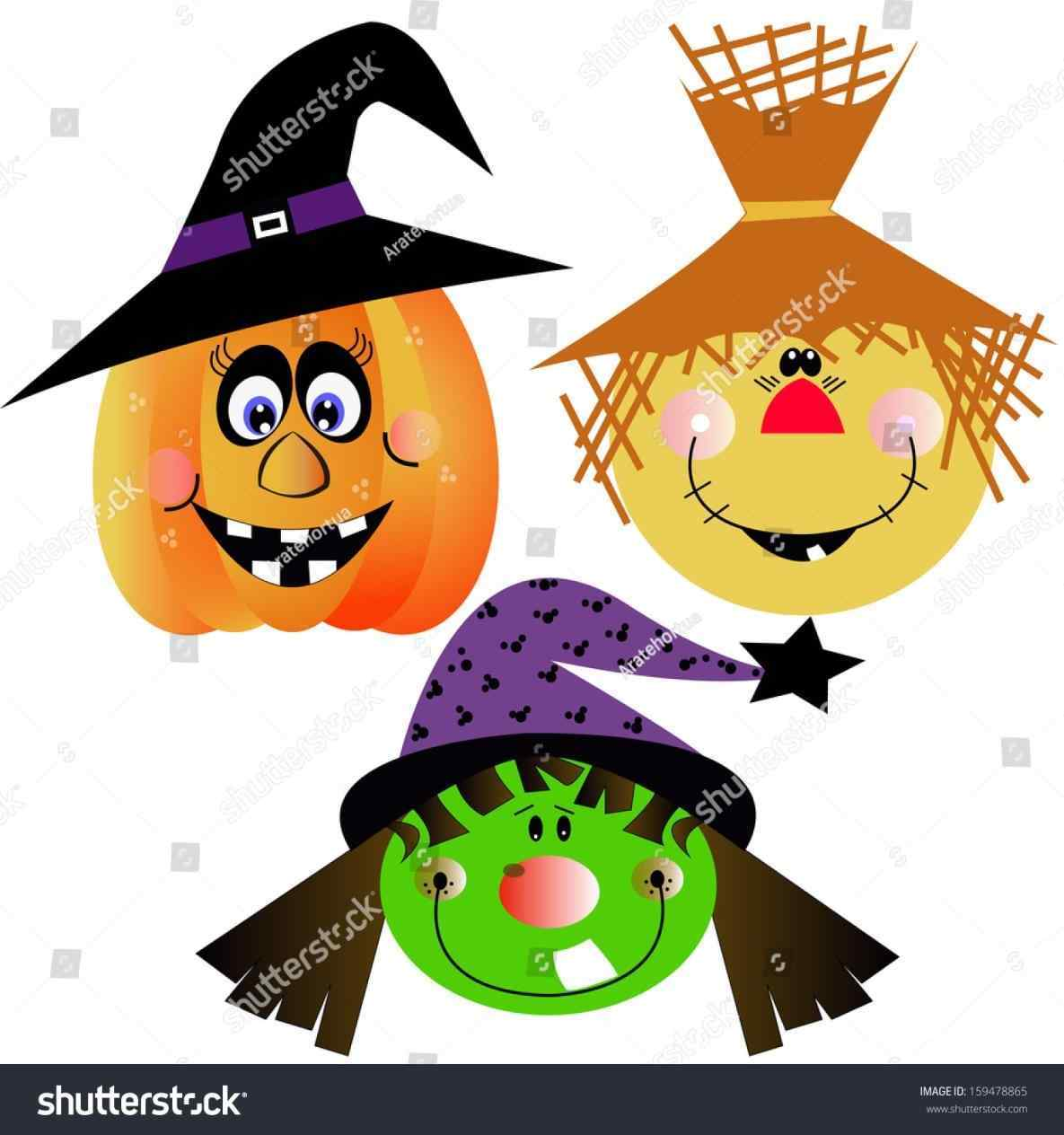 1185x1264 Witch Face Clipart Of A Halloween Witch Free Download Clip Art