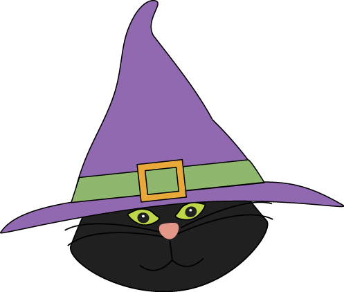 497x422 Sweet Idea Witch Hat Clipart Cat Head With Clip Art Image