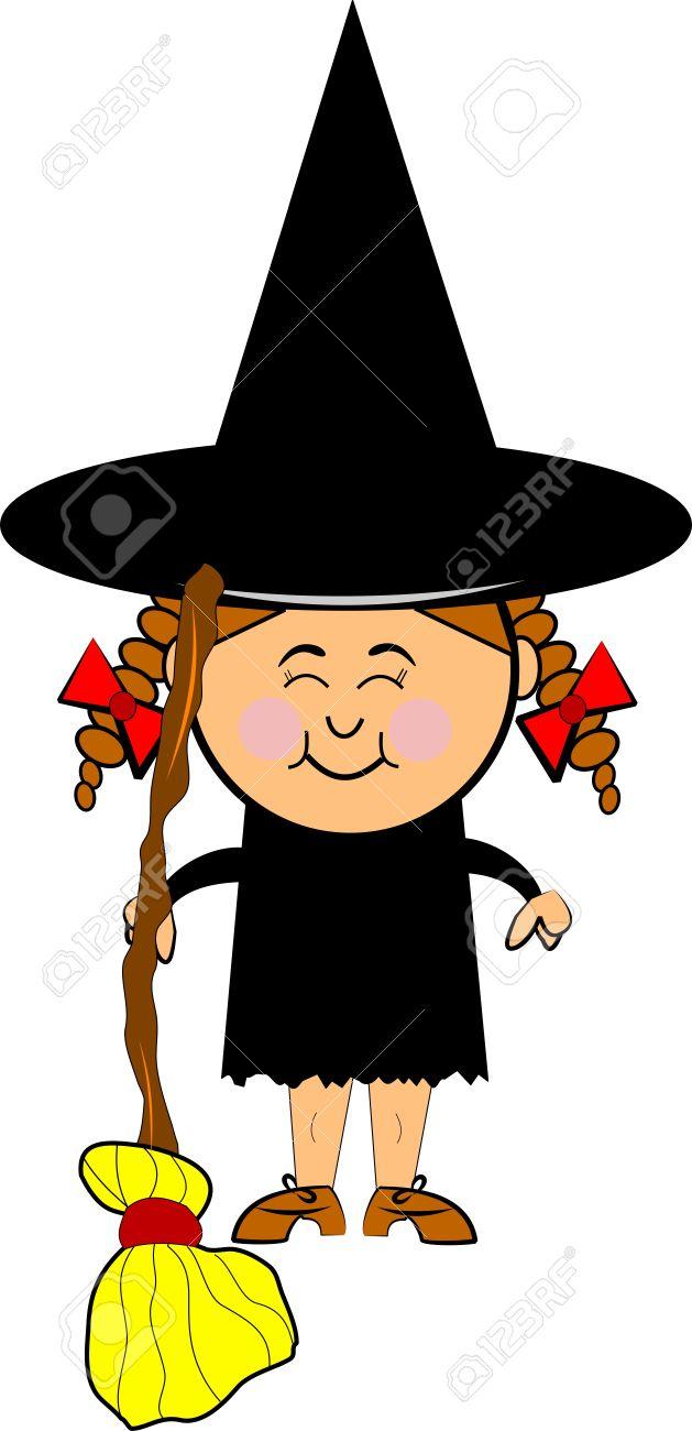 629x1300 Witch Hat Clipart Purple