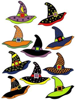 263x350 Witch Hat Clipart Color Black White Witches