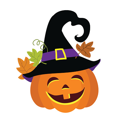 429x402 Pumpkin Silhouette Clipart Witch Face