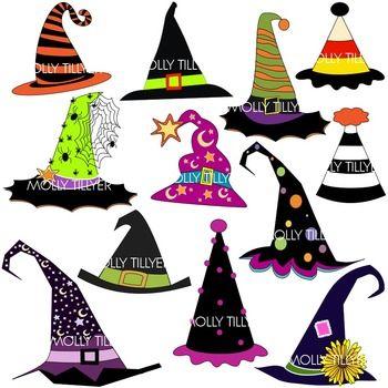 350x350 Witch Hat Clip Art, School Clipart, Clipart For Teachers, Teacher