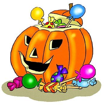346x350 Halloween Candy Halloween Clip Art Halloween Amp Holidays Wizard