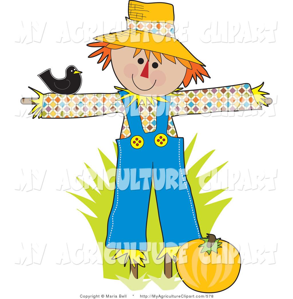 1024x1044 Animated Scarecrow Clipart