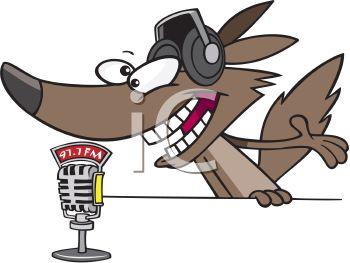 350x263 Wolf Radio Disc Jockey