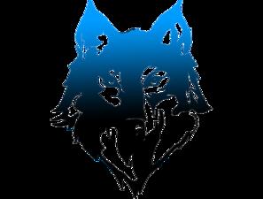 297x225 Wolf Head Clip Art