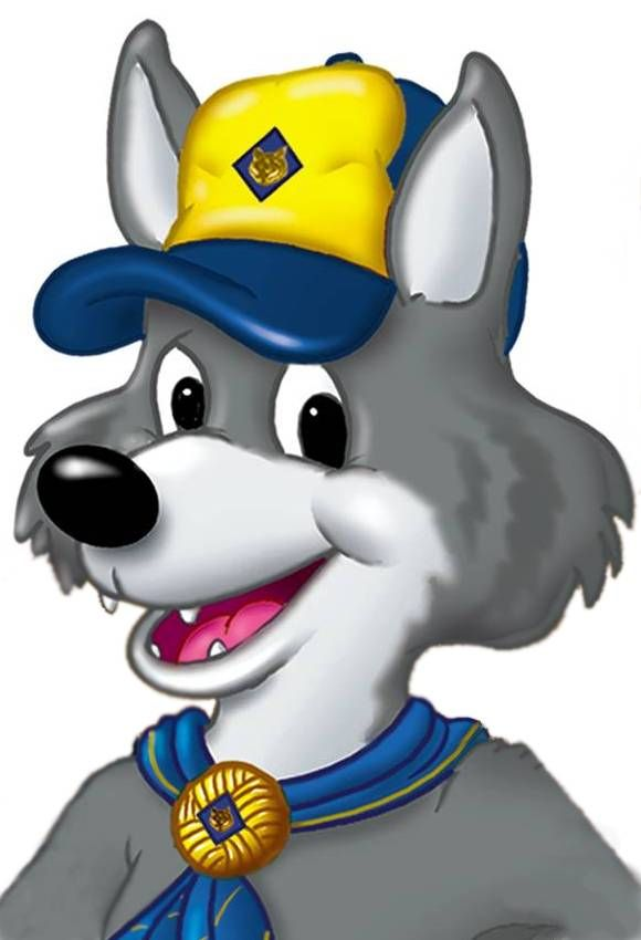 580x850 Wolf Clipart cub scouts Scouts Pinterest Wolf clipart, Wolf