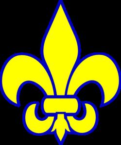 249x299 cub scout fleur de lis clip art