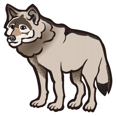 400x400 Wolf Clipart Clipartaz Free Clipart Collection