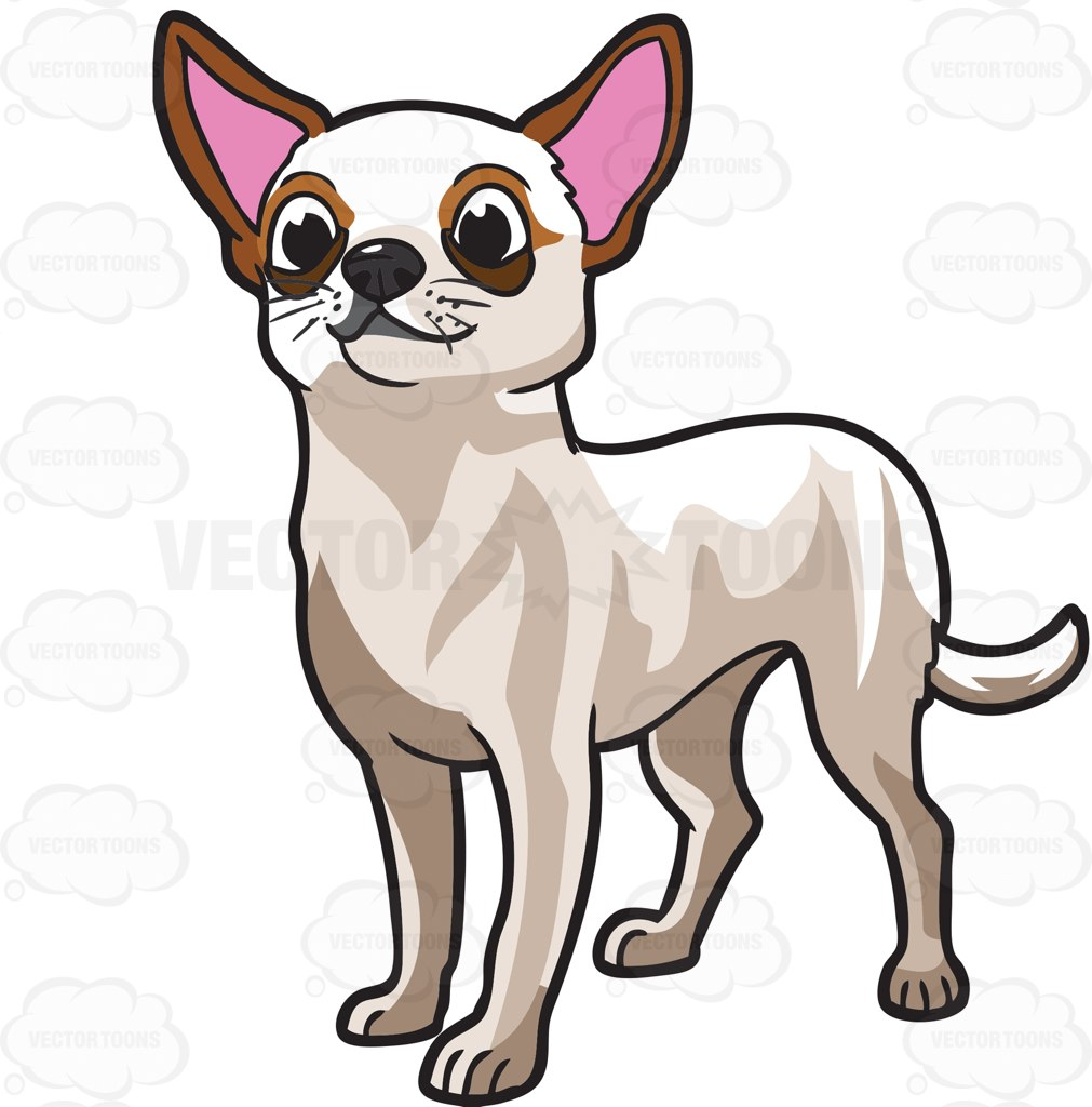 1011x1024 Appealing Chihuahua Clipart Panda Free Images 20clipart Black