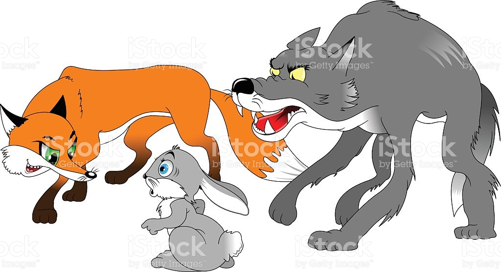1024x557 Collection Of Fox And Wolf Clipart High Quality, Free