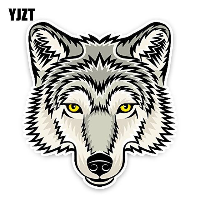 640x640 Cartoon Wolf Head