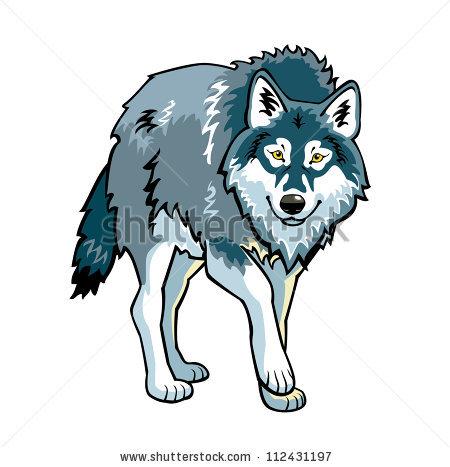 450x467 Grey Wolf Clip Art Clipart Panda