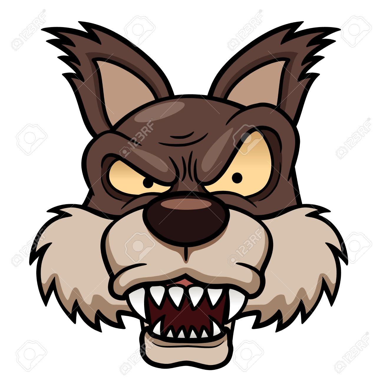 1300x1300 Werewolf Clipart Funny Cartoon 4051843