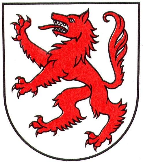 495x563 Wolf Head Flag Banner Clipart