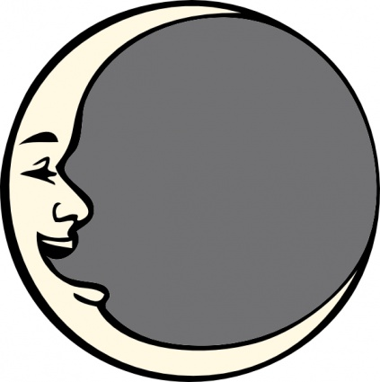 423x425 Man In The Moon Clip Art Clip Arts, Free Clip Art