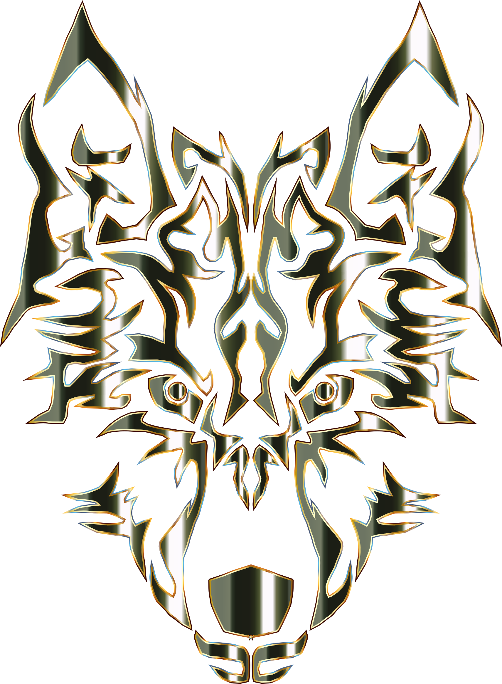 1710x2329 Wolf Clipart Tribal Wolf