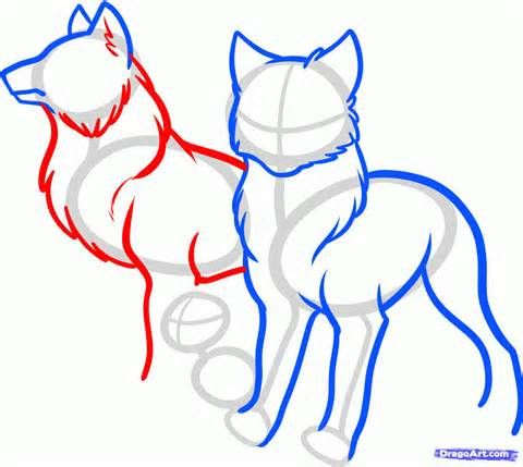Wolf Pack Clipart