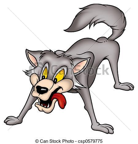 450x470 Top 93 Gray Wolf Clip Art