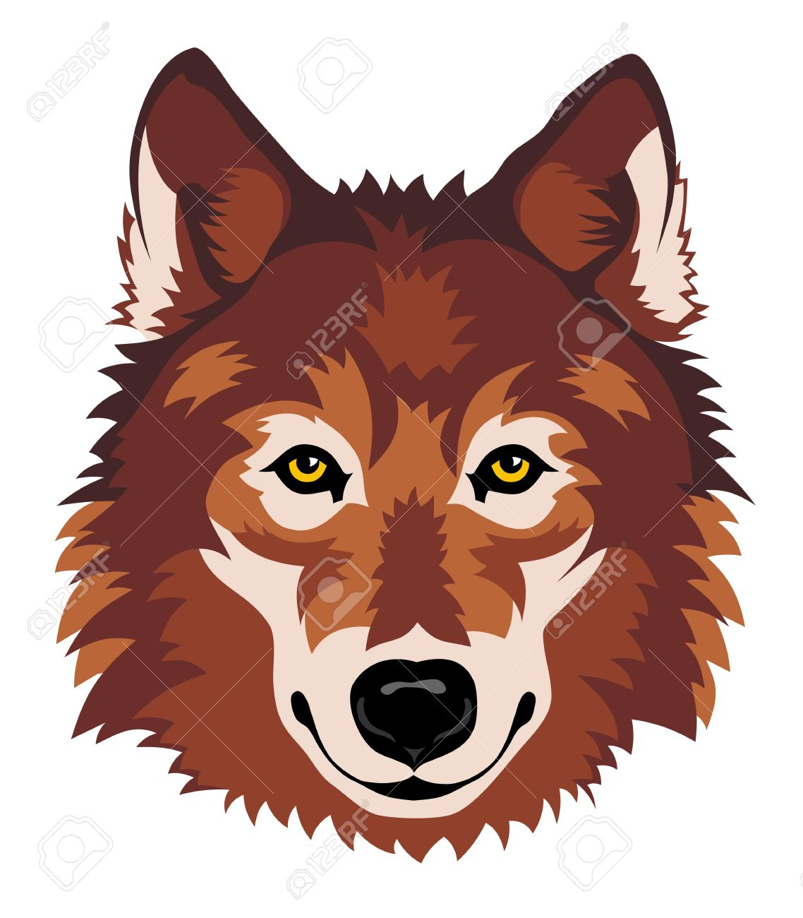 1138x1300 Arctic Wolf Clipart Wolf Head