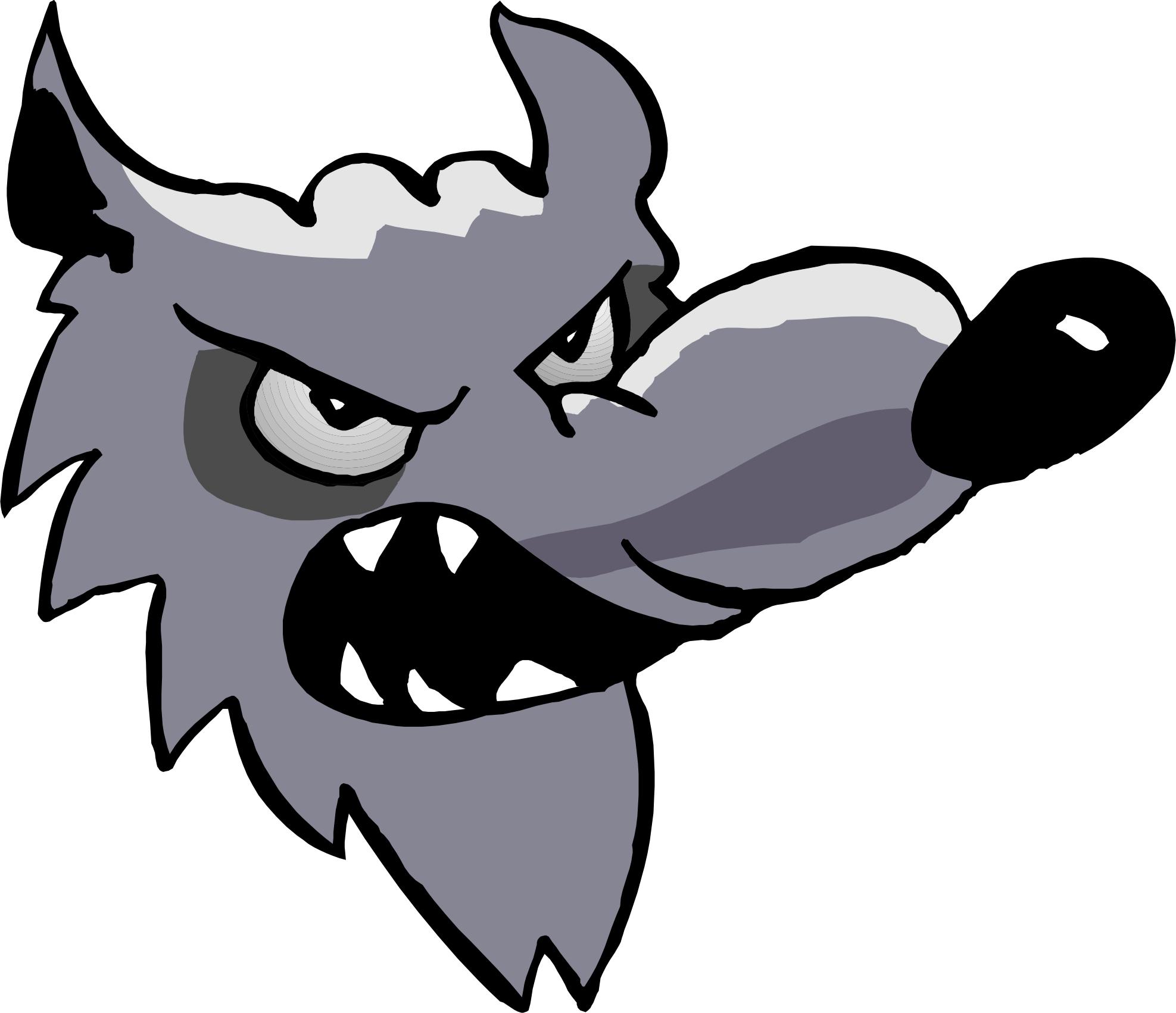 1975x1702 Clip Art Wolf Head Clip Art