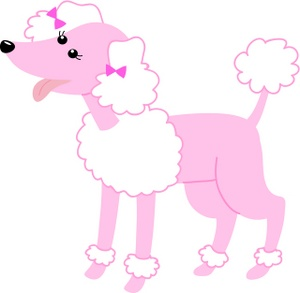 300x293 Free Pink Poodle Clipart Image 0071 0909 1914 1330 Dog Clipart