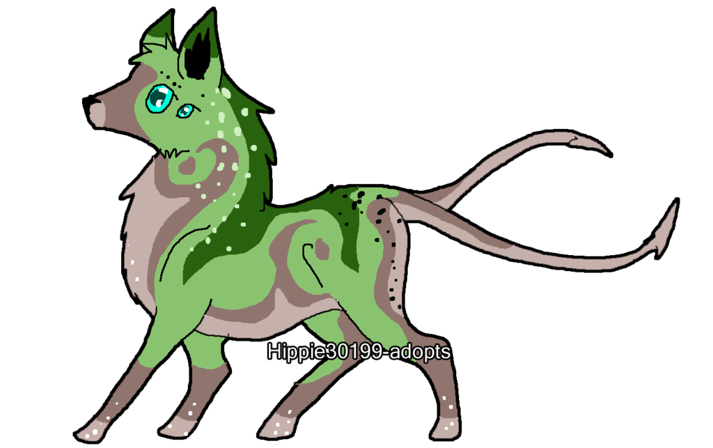 1024x643 Abyssal Wolf Pup 1 By Hippie30199 Adopts