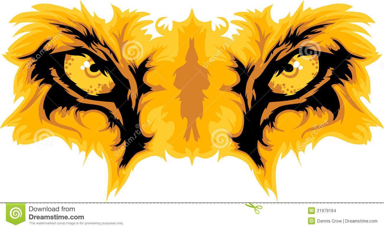 1300x778 Lion Mascot Image Lion Eyes Mascot Graphic Stock Images