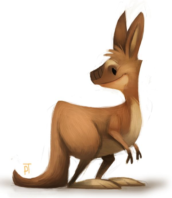 600x688 31 Best Clip Art My Style Kangaroos Images