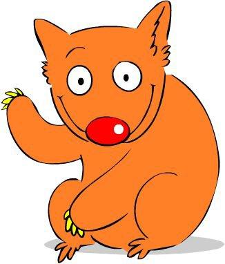 326x382 Wombat Mascots And Logos Ferrebeekeeper