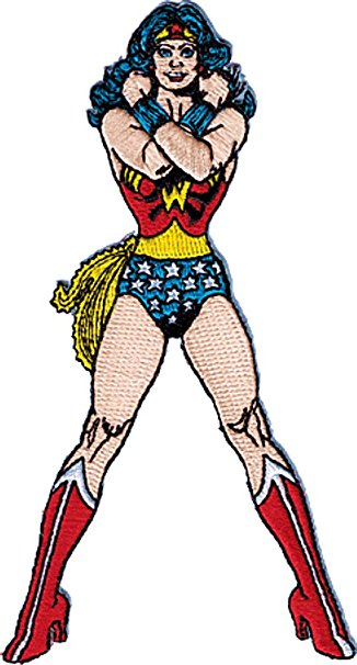326x606 Wonder Woman Clipart Caricature