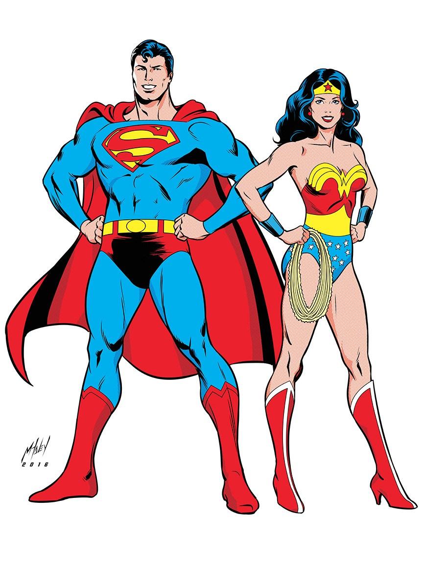 864x1152 Superman Amp Wonder Woman Appreciation!