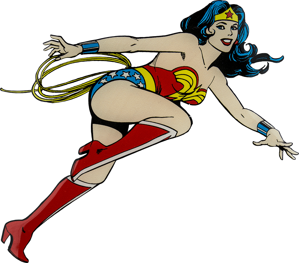 1000x880 Wonder Woman Pinup Clipart Transparent Png