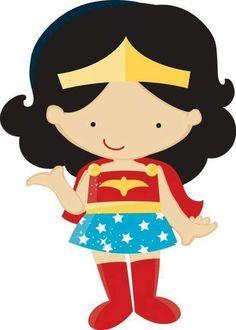 236x330 Kid Wonder Woman Clipart