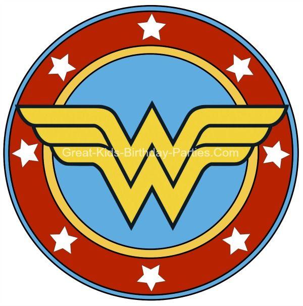 600x606 Wonder Woman Clip Art Free Superhero Printables Wonder Woman