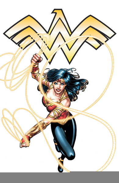 390x600 Free Wonder Woman Clipart Free Images
