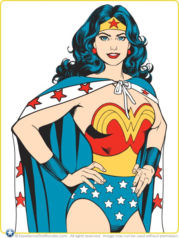 Wonder Woman Clipart Free at GetDrawings.com | Free for ...