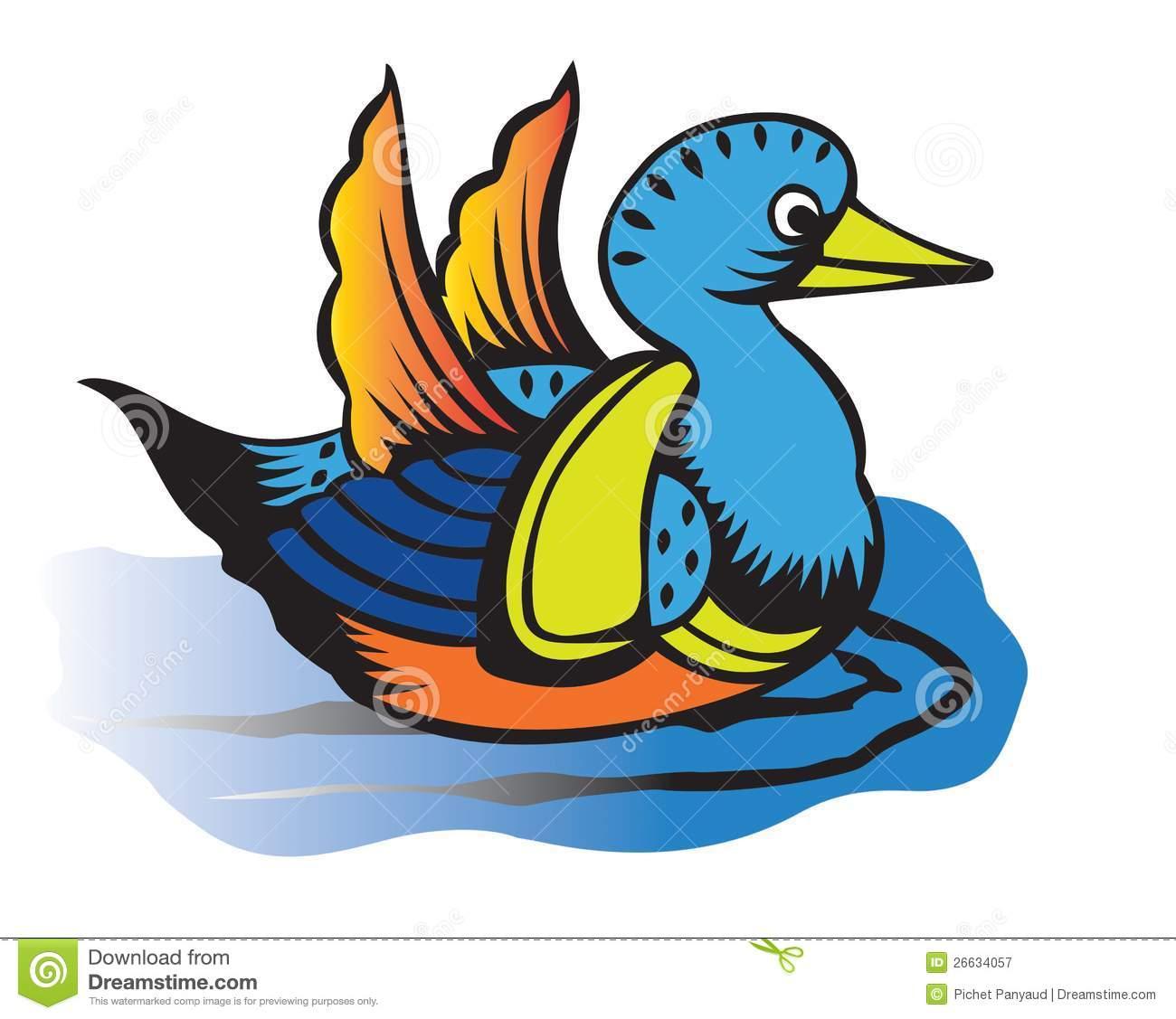 1300x1127 Mean Duck Clip Art