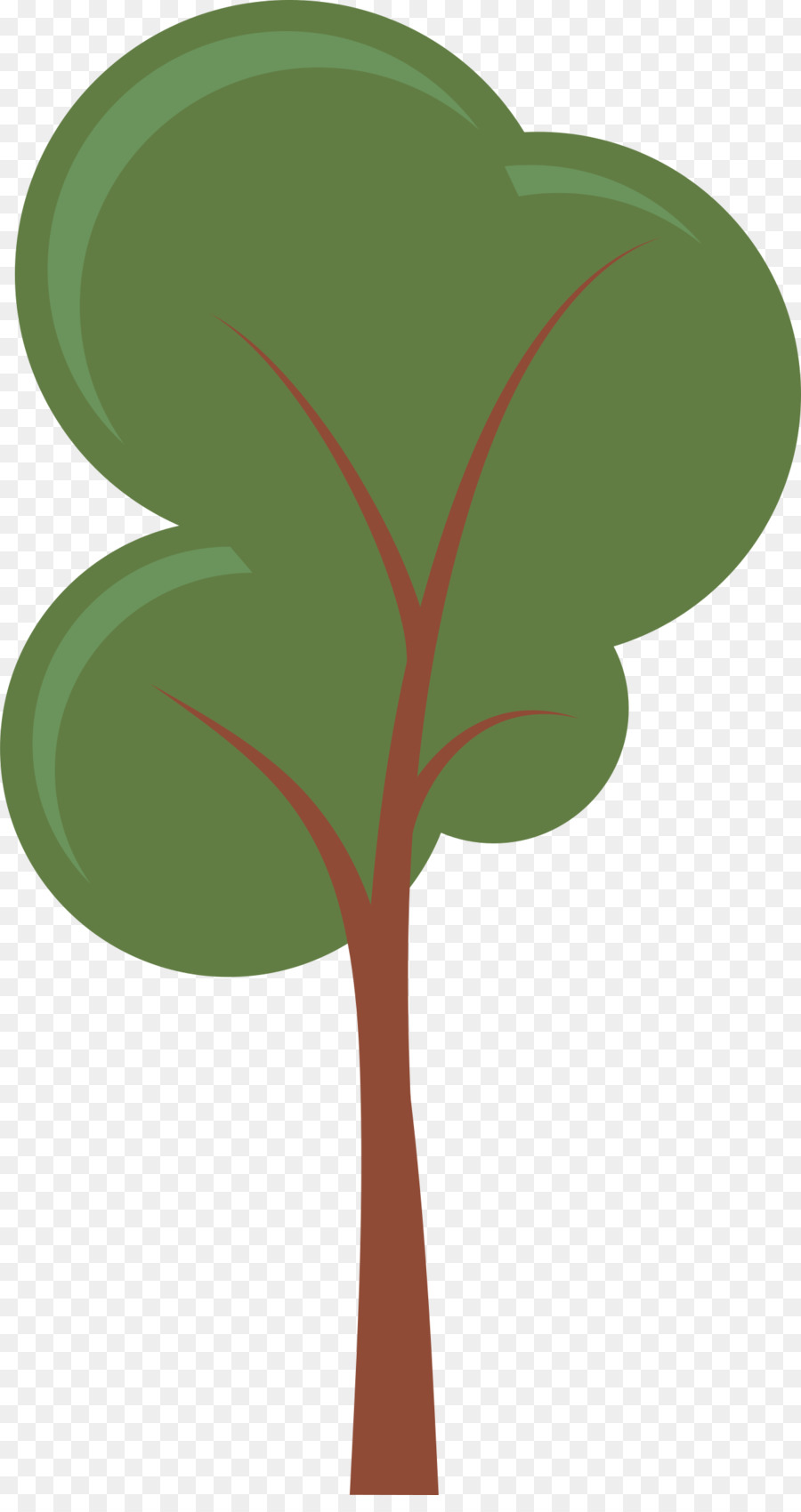 900x1700 Cartoon Tree Clip Art