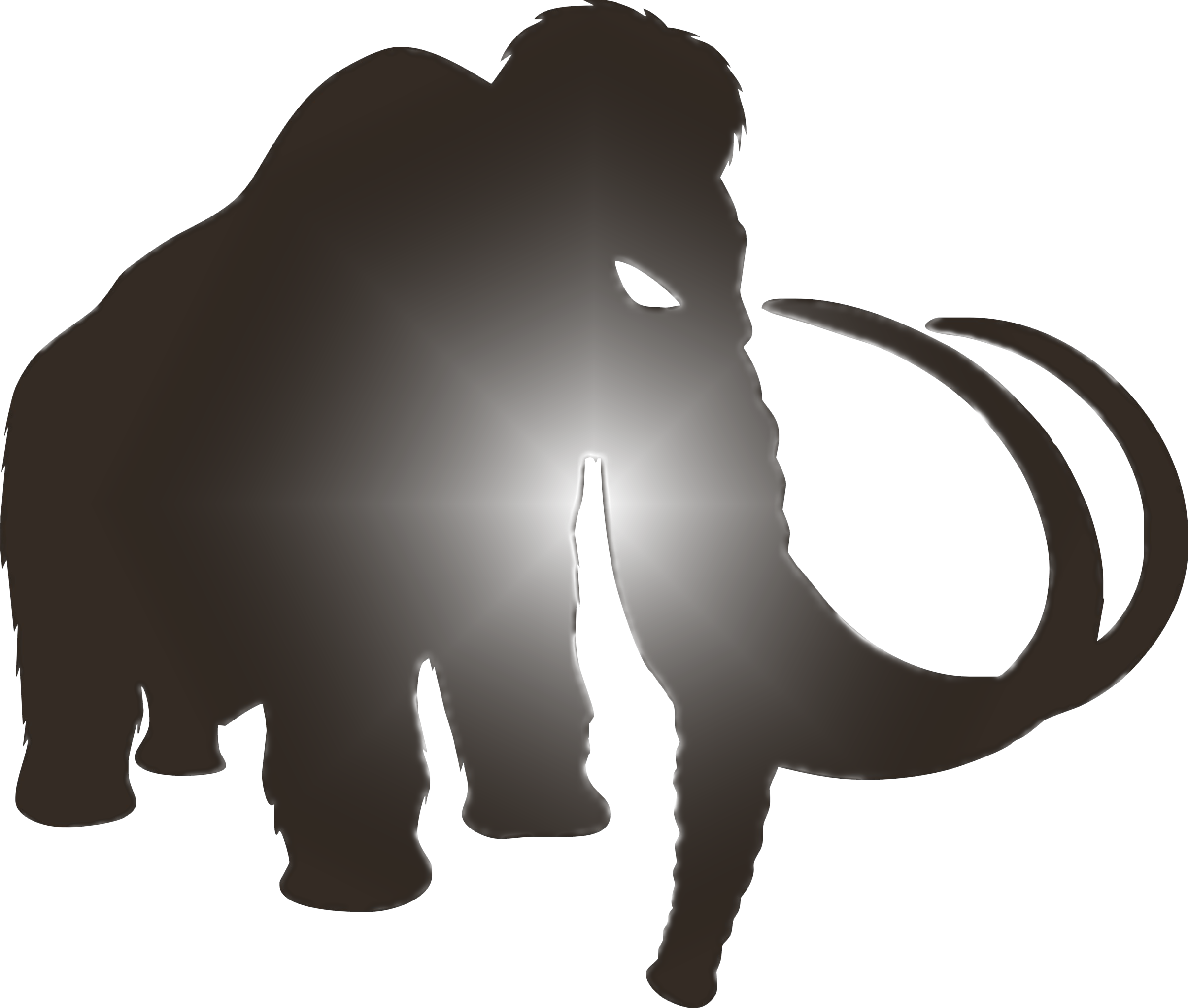 2411x2044 Mammoth Clipart Transparent