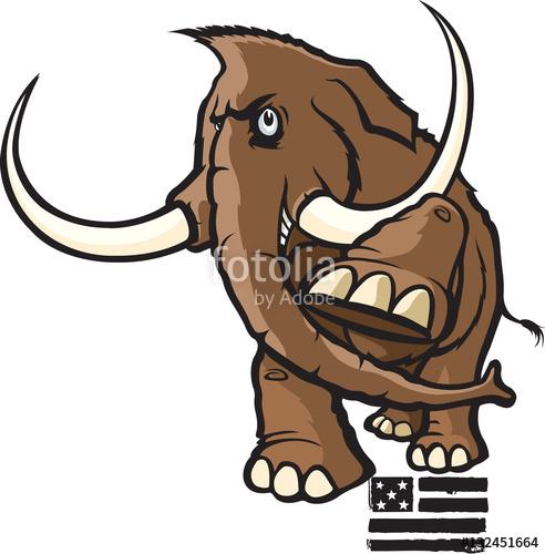 492x500 Woolly Mammoth Cartoon Woolly Mammoth A Cartoon Woolly Mammoth