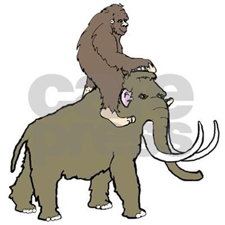460x460 Woolly Mammoth Clipart