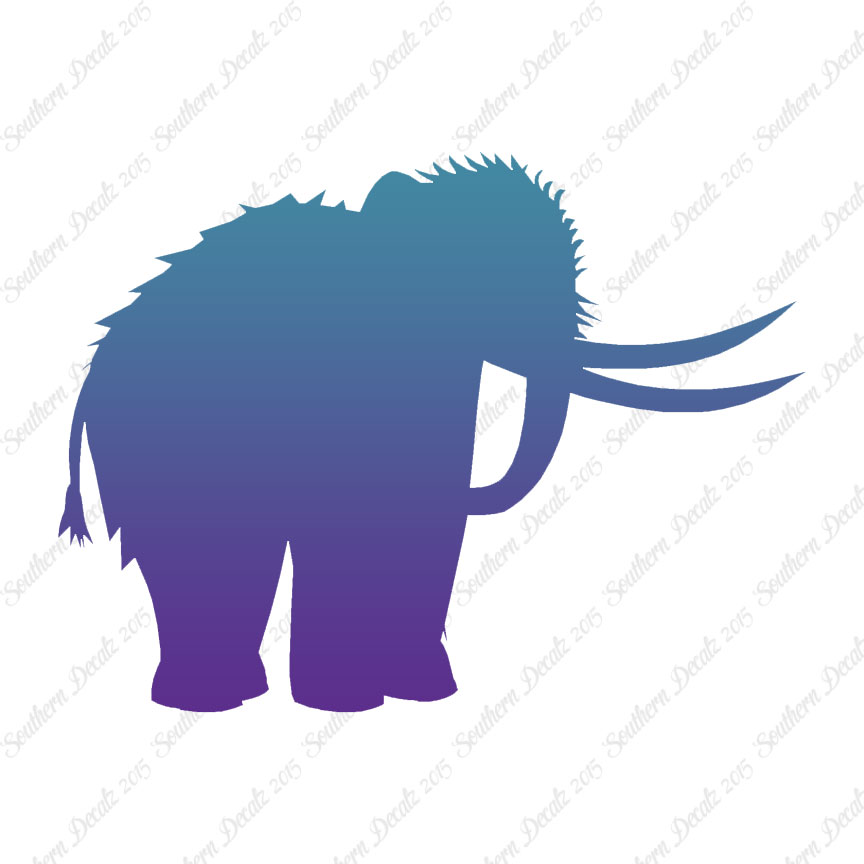 864x864 Woolly Mammoth Mastodon