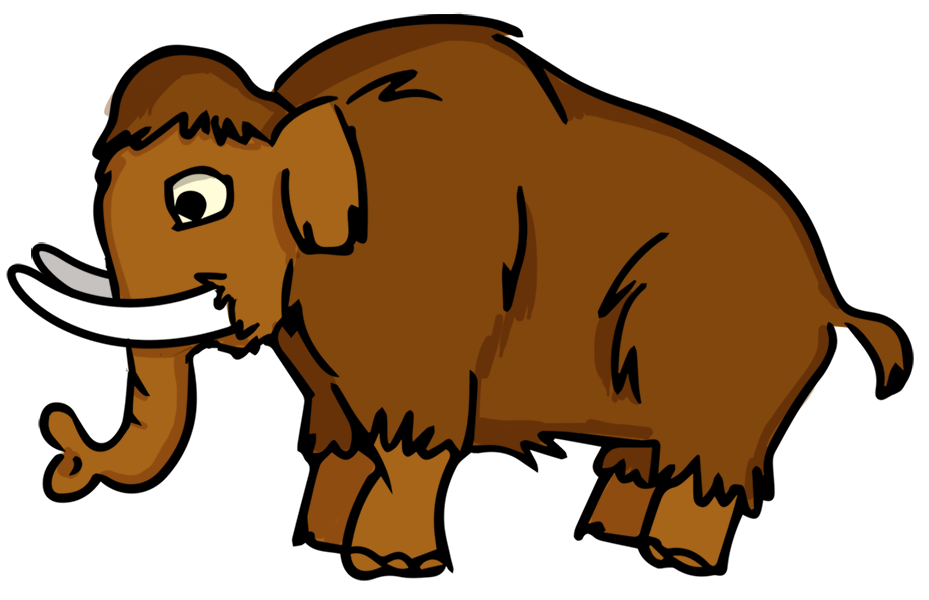 929x600 Woolly Mammoth Clipart