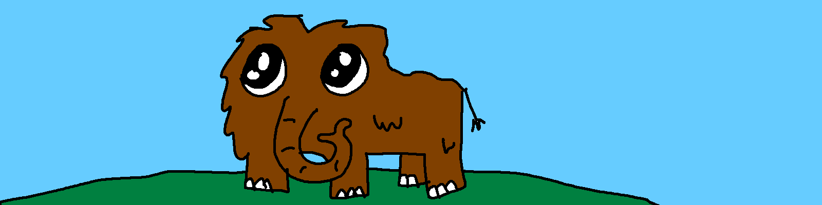 Wooly Mammoth Clipart