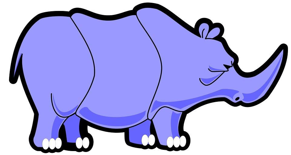 960x510 Rhinoceros Clipart