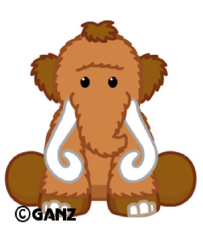 400x459 Webkinz Prehistoric Mammoth