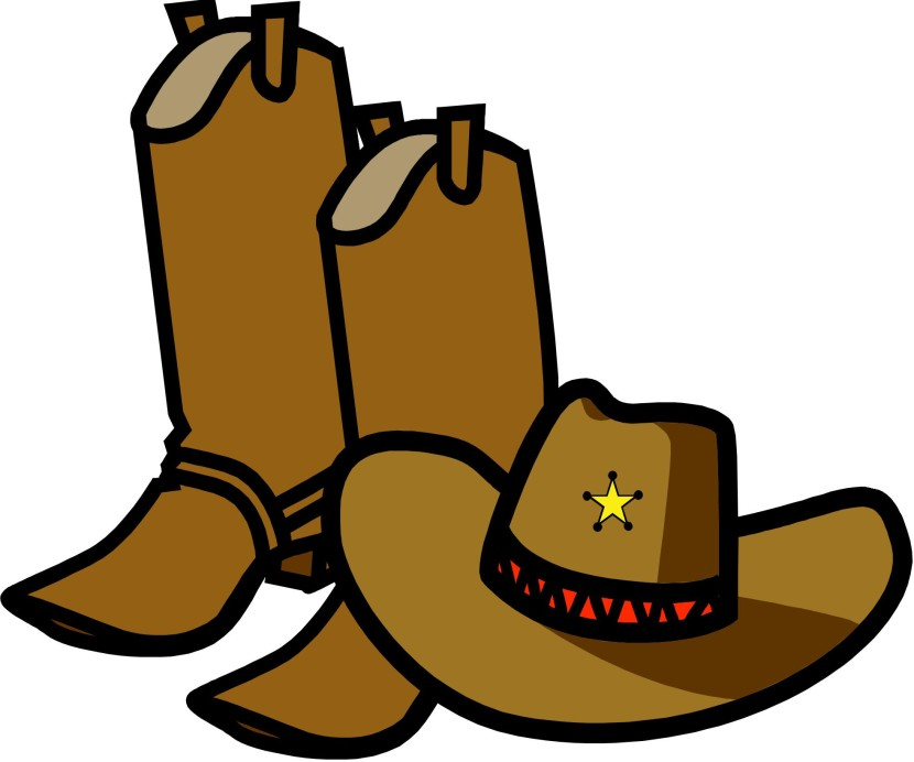 830x692 Cowboy Hat Clipart Cow Girl